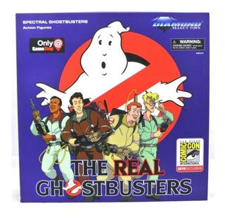 Ghostbusters ( Cazafantasmas ) Sdcc Set Exclusivo 6 Figuras