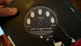 Lp - Compacto John & Yoko Plastic Ono Band - Happy Xmas