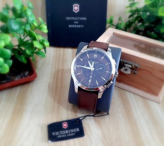 Relógio Victorinox Alliance Marrom - Couro