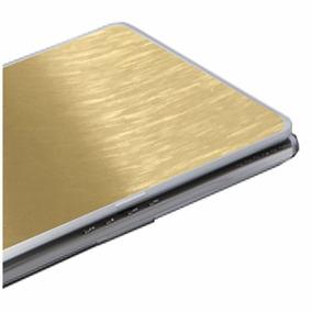 Película Protetora Aço Escovado Para Notebook Netbook Tablet