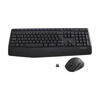 Kit Teclado E Mouse Logitech Mk345 Comfort Sem Fio