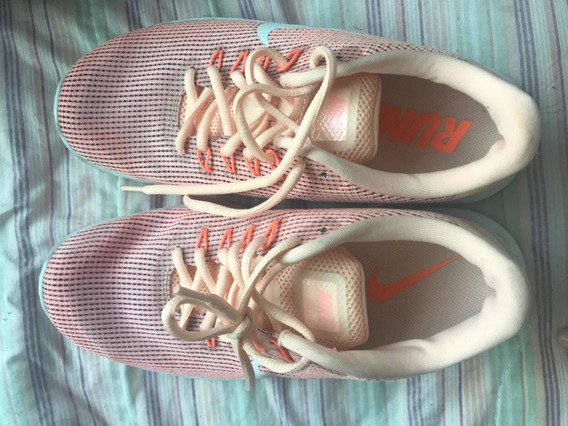 Tênis Nike Flex-rosa Claro-feminino