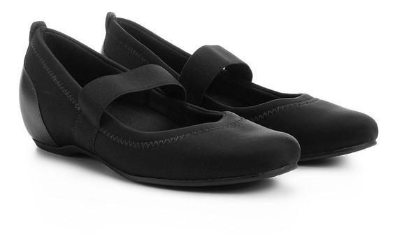 Sapato Usaflex Impermeável Preto Boneca Neoprene Diabetes