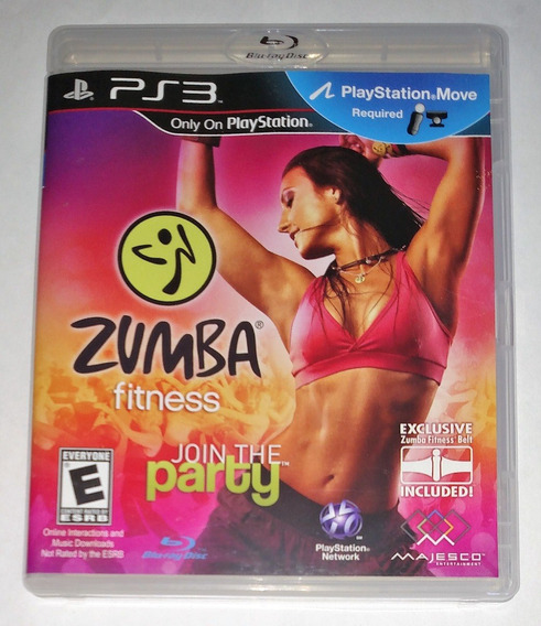 Zumba Fitness Join Party Midia Fisica Original Ps3 Cr $15
