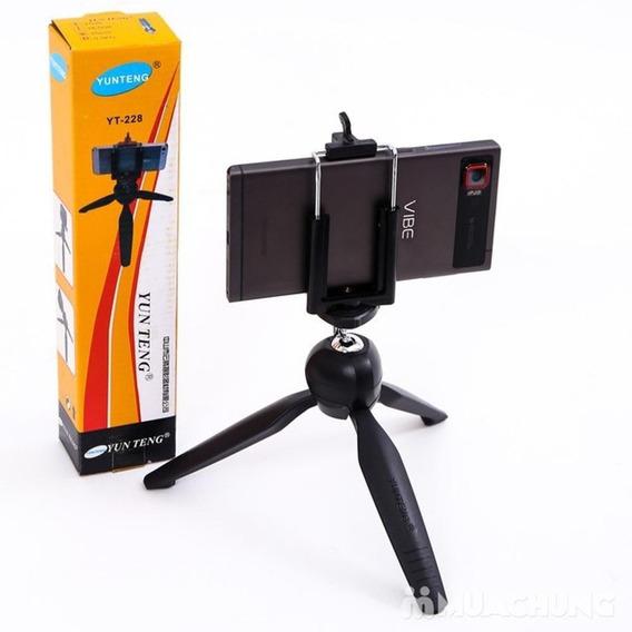Mini Tripé Para Câmera Digital / Ação Filmadora / Telefone
