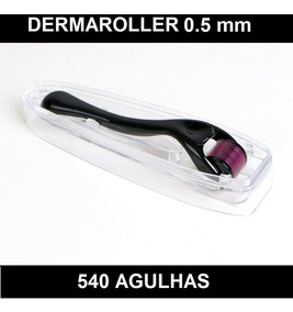 Dermaroller 540 Agulhas Para Microagulhamento