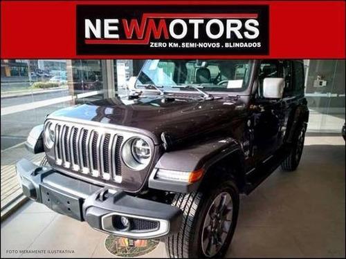 Imagem 1 de 12 de Jeep Wrangler 2.0 Turbo Gasolina Sahara 2p 4x4 At8