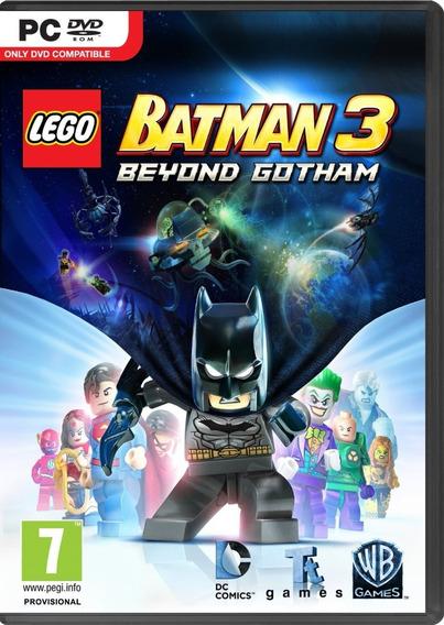 Game Pc Lego Batman 3 Beyond Gotham - Original - Novo
