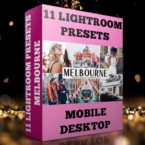 Lightroom Preset Profissional 11 Presets - Melbourn