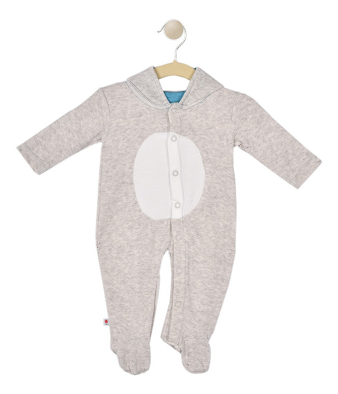 Mameluco Baby Creysi Jaspe Th1277