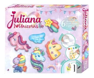 Juliana Unicorns Set Diseña Tu Imán Unicornio En Yeso