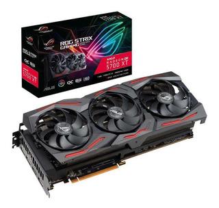 Placa De Video Gamer Amd Rx 5700 Xt Asus 8gb Gddr6 Strix Rog