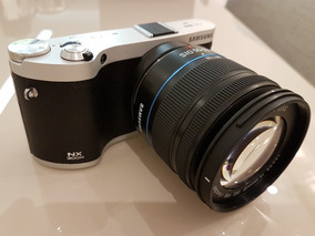 Câmera Samsung Nx300m Preta