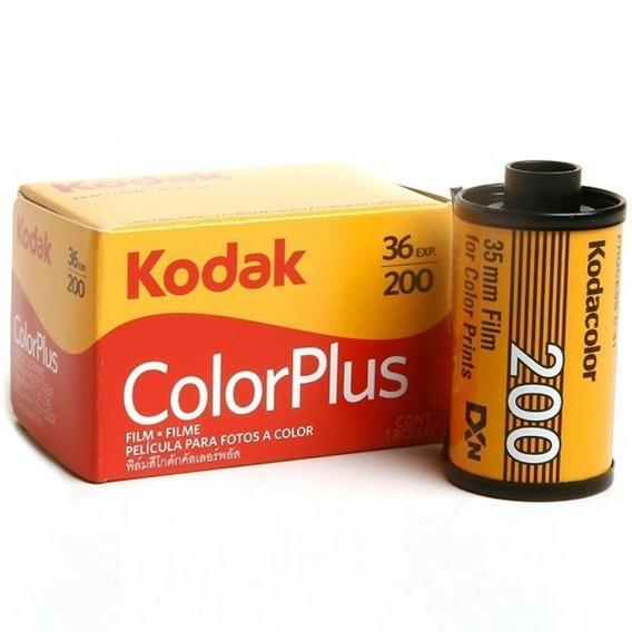 Filme Kodak Colorplus Iso 200 36 Poses Colorido - 4 Unidades