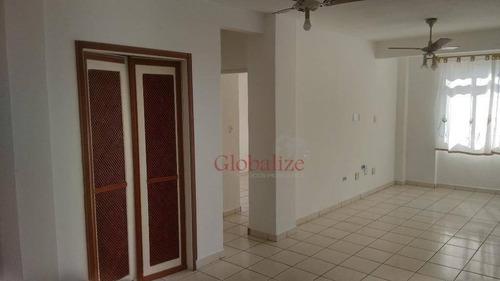 Apartamento Com 2 Dormitórios À Venda, 84 M² Por R$ 280.000,00 - Centro - São Vicente/sp - Ap0169