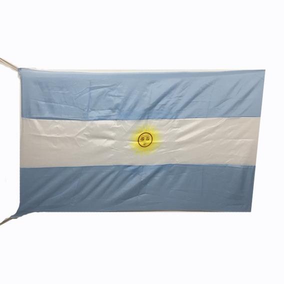Bandera Argentina 150x90cm Con Tirantes Rusia 2018
