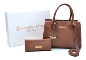 Bolsa Lorena Feminina Amanda Brazil C/ Chaveiro 02