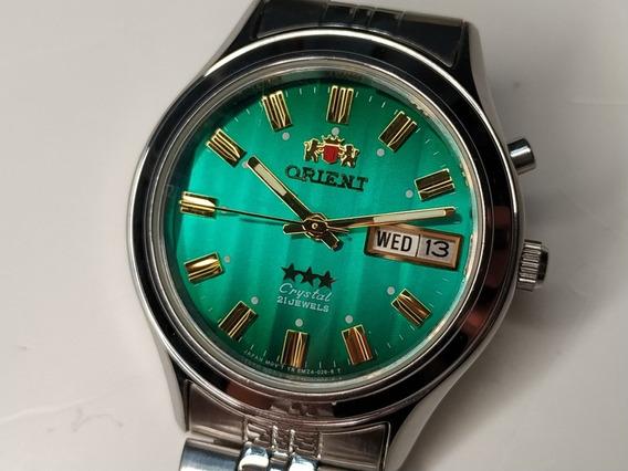 Relógio Orient Clássico Automático Crystal 21 Jewels