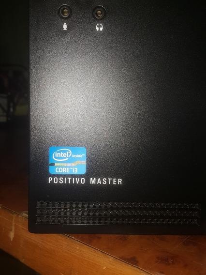 Cpu Positivo Master D360 Core I3 4gb Ddr3 Hd 500gb Revisado.
