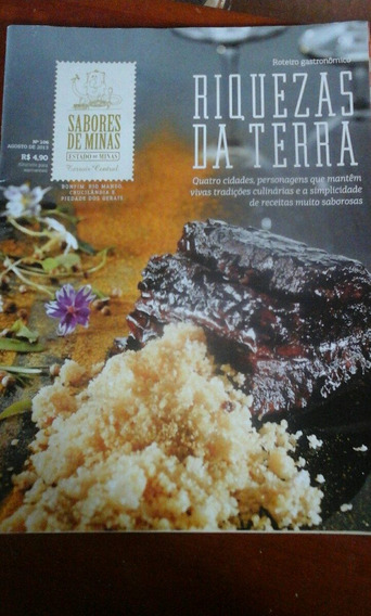 Revista Gastronômica Sabores De Minas Riquezas Da Terra