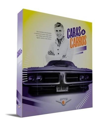 Livro - Caras & Carros, Antigos, Pessoas, Histórias, Coleção