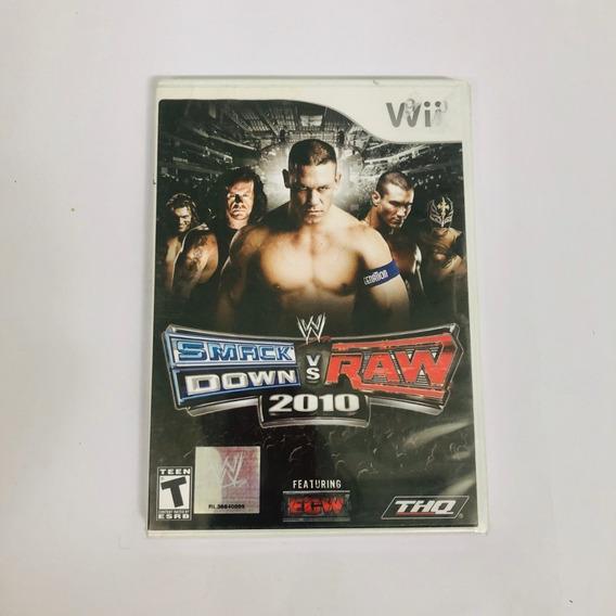 Smack Down Vs Raw 2010 Nintendo Wii Lacrado