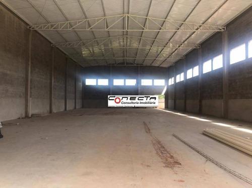 Galpão Para Alugar, 1045 M² Por R$ 16.000,00/mês - Loteamento Industrial Veccon Zeta - Sumaré/sp - Ga1111