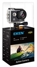 Camera Eken H9r 4k Original Wifi+ Cartão 32gb Classe 10