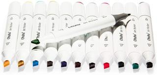 Rotuladores Ohuhu De 12 Colores De Doble Punta Para Boceto,