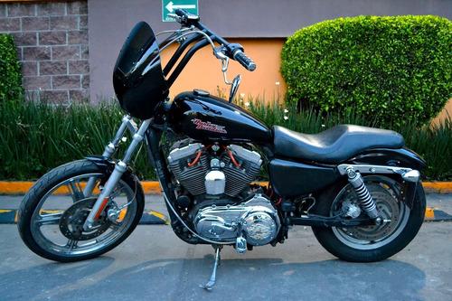 Imagen 1 de 15 de Harley Sportster Custom 1200cc Emplacada Cualquier Prueba