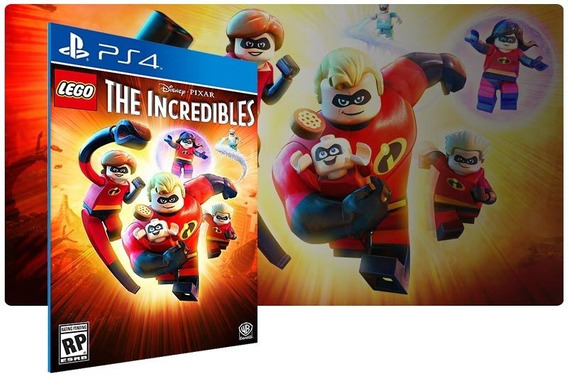 Jogo Lego Incriveis Ps4 Midia Fisica Infantil