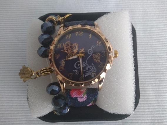 Relógio Feminino De Pulso Stainless Steel Back Pramoção