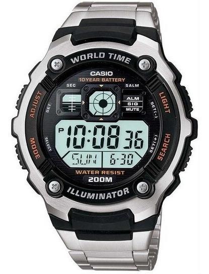 Relógio Casio Original Ae-2000wd-1avdf