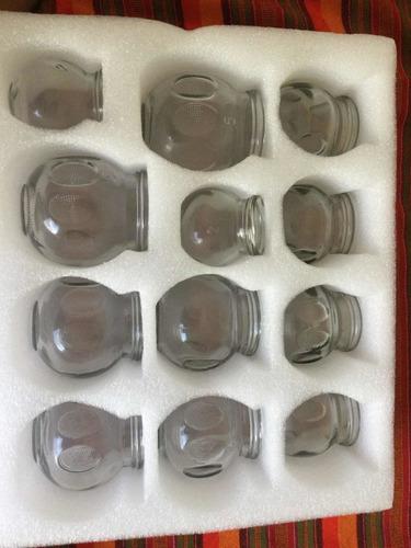 Tazas Para  Hacer Ventosas, (cupping)