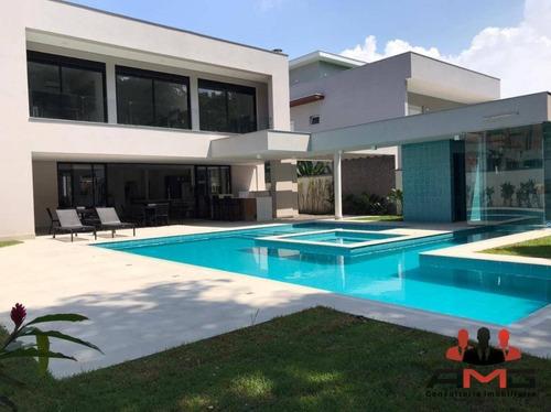 Casa Com 5 Dormitórios À Venda, 525 M² Por R$ 6.800.000,00 - Riviera - Módulo 17 - Bertioga/sp - Ca0987