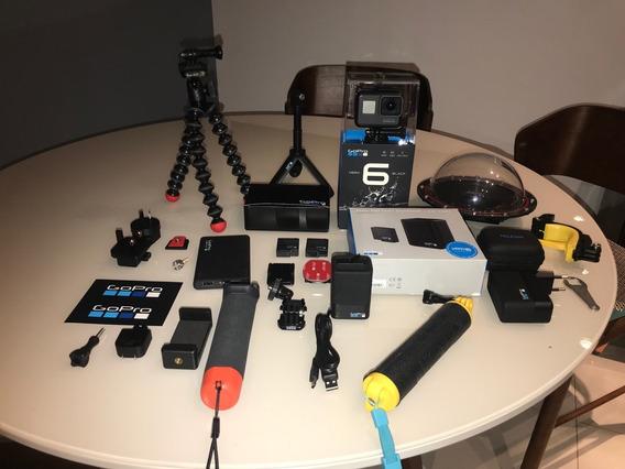 Câmera Gopro Hero 6 Black + Acessórios