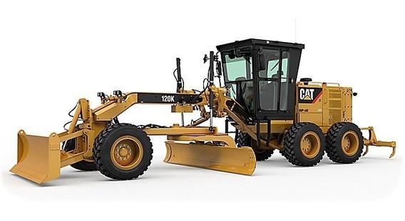 Catálogo De Peças Motoniveladora Cat 120k Ano 2009 Motor C7