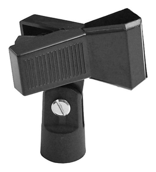 Soporte Base Pinza Clip Clamp Gancho Para Paral Microfono