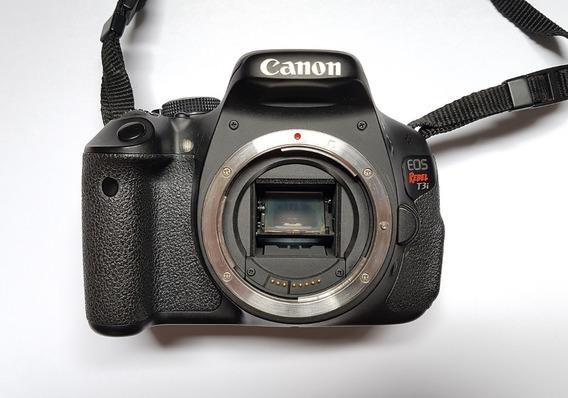 Canon Rebel T3i + 3 Baterias + Lente 18-55 (f3.5-5)
