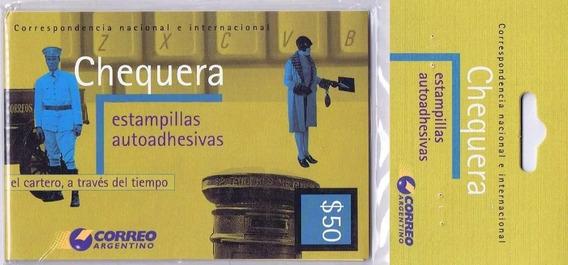 Filatelia Argentina Carnet Chequera Cat. Jalil N° 2927 $ 50