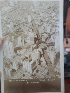 3 Cartões Postais Antigos De Belo Horizonte