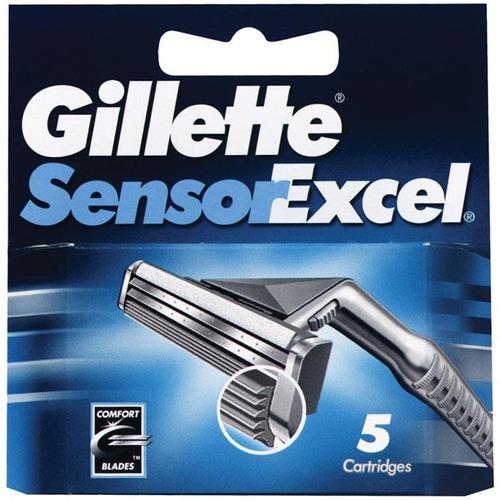 Gillette Sensor Excel Cart X 5 Repuestos