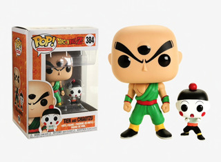 Figura Funko Pop Dragon Ball Z S4 - Chiaotzu & Tien 384