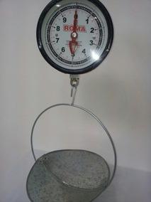 Balanza Golgante Reloj Roma Verdulero