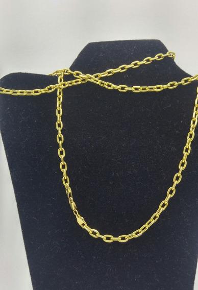 Cordão Corrente Grossa/maciça, Ouro 18 K 65,0 Cms. 11,70 Grs