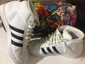 Tênis adidas Superstar Cano Alto - Original