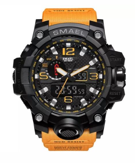 Relógio Esportivo Smael 50 M A Prova D