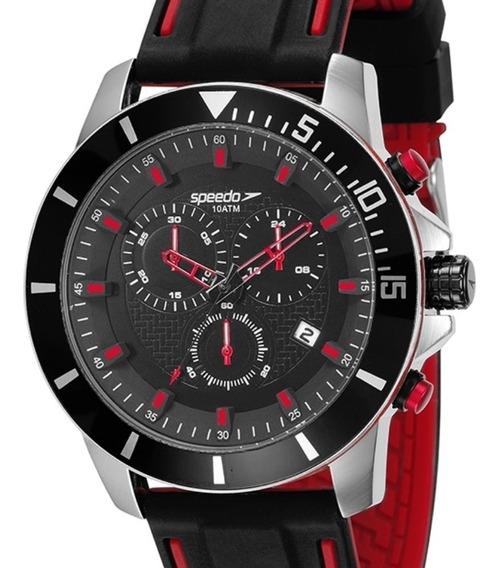 Relógio Speedo Masculino Cronógrafo 100 Metros 24869g0evni1