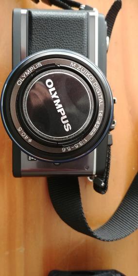 Câmera Olympus E-p2 Lentes, Corpo,chip Envio Gratis
