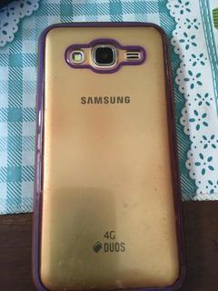 Celular Samsung J5 Duos 4g Usado Em Bom Estado.